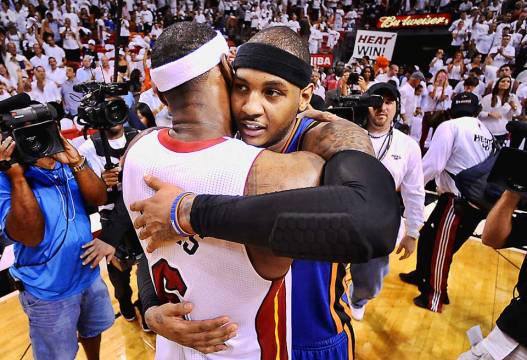 melo and bron